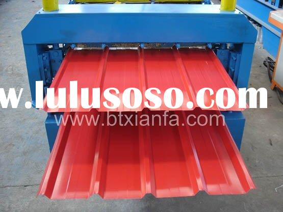 Double Deck Roll Forming Machines for Aluminium Roofing Sheets