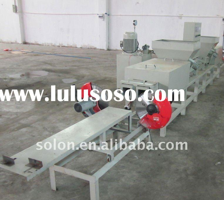 Double-headed Wood Pallet Block Making Machine