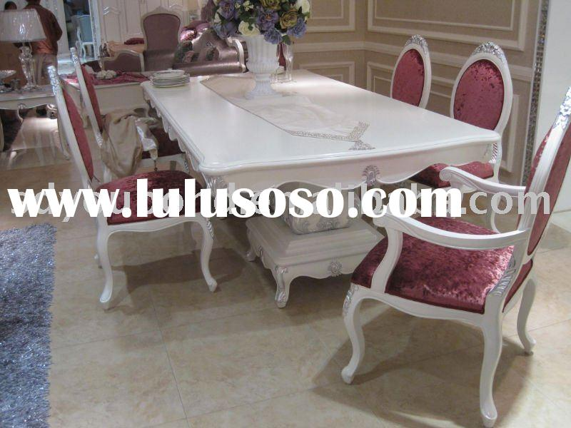 E36 white dining room furniture Italy design High-end beech solid wood