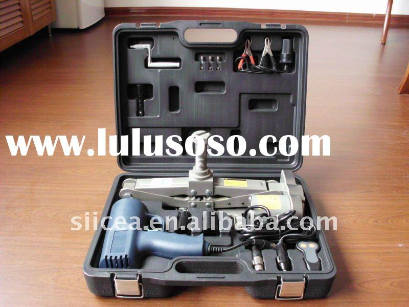 ELECTRIC CAR JACK KIT WITH IMPACT WRENCH 12V DC