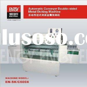 EN-SK/C600X Automatic Transmission Type Double-Sided Metal Etching Machine for Pad Printing Cliches