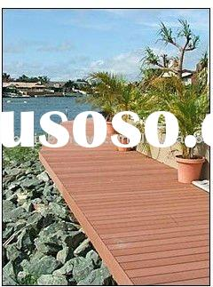 Easy installation walkway deck boards Ecological WPC composite decking for pool or garden