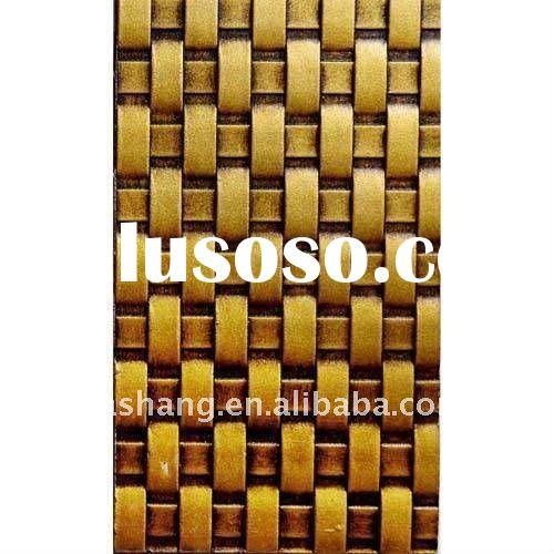Embossed bamboo mdf wall panels.Wood decorative wall sheet for interior design.