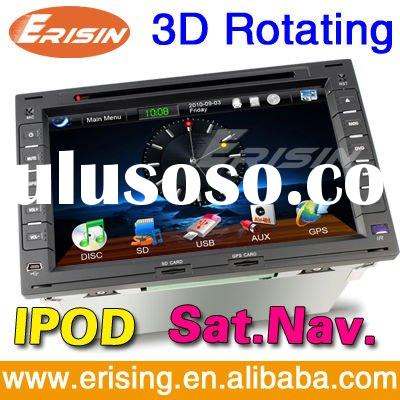 """Erisin Touch Screen HD 7"""" 2 Din Auto Video System Special for VW with SD GPS TV PIP USB DVD IPO"""