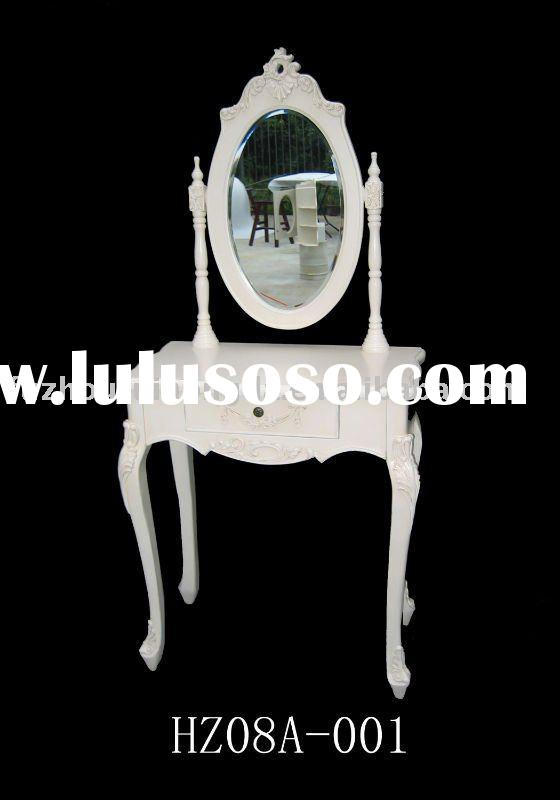 European antique style wooden dressing table for home decoration