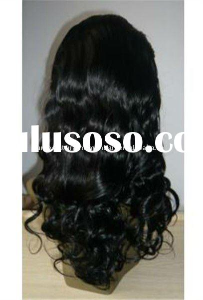 European hair top quality natural color lace front wig