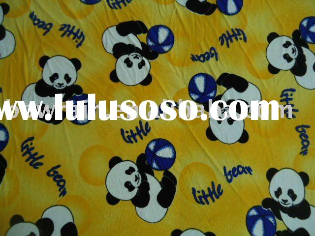 FDY 150D 96F 100% polyester two sides brushed polar fleece fabric