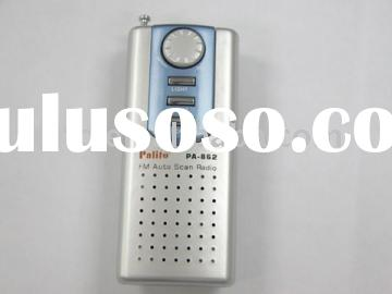 FM Auto Scan Radio with speaker PA-862
