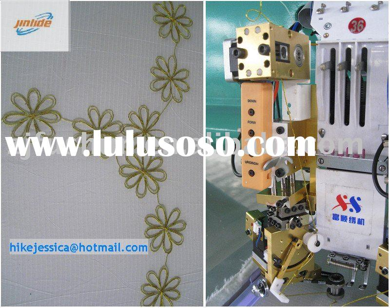 FS-436 Cording Coiling taping and Flat Mixed computerized Embroidery Machine