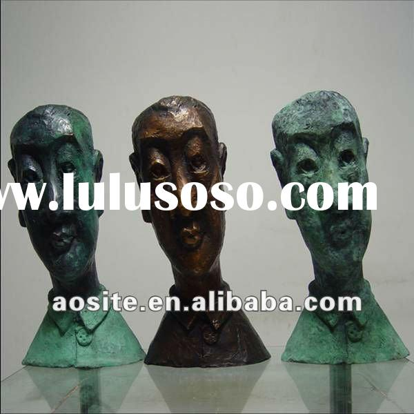 Famous Artist Bronze Head Sculpture For Sale