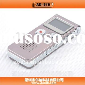 Far out Digital Voice Recorder, 18 languages, MP3/WMA/WAV Format, 143 hrs Long time Recording, AD-51