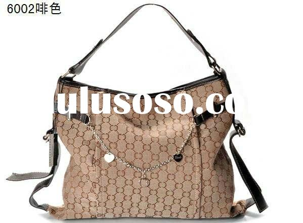 Fashion canvas women handbags brand name designer bags