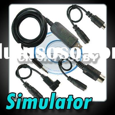 Flight Simulator USB FMS Cable for rc Helicopter Transmitter