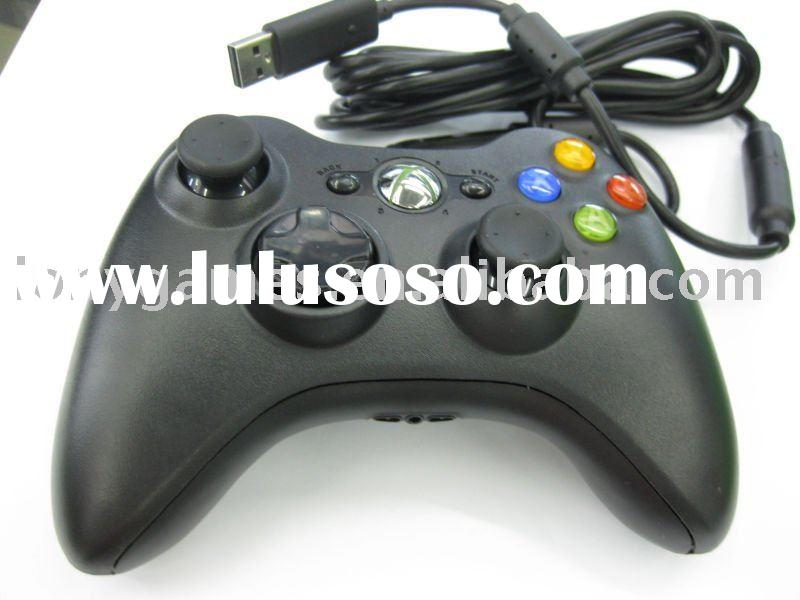 For Xbox 360 wired controller in Black,original chipset