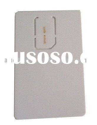 For iPhone 2G 3G 3GS 4 4G Universal Activation Card