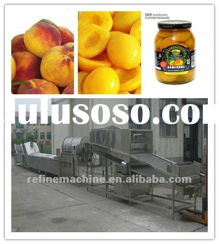Fruit Processing Machine(Canned Peach)