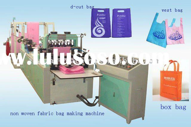Full automatic Environment friendly PP Non wove bag Making machine(600mm)