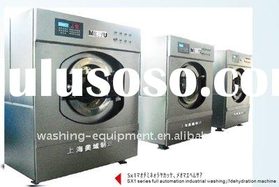 Full automation industrial washing and dehydration machine