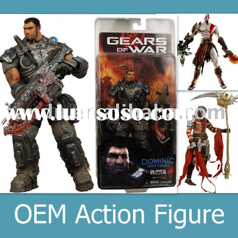 Gears of War / Movable Action Figure