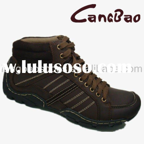 Genuine Leather Sports Boots