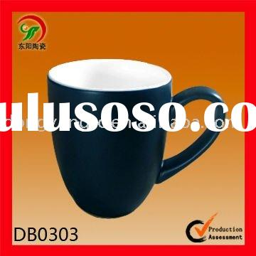 Glazed ceramic promotional cups