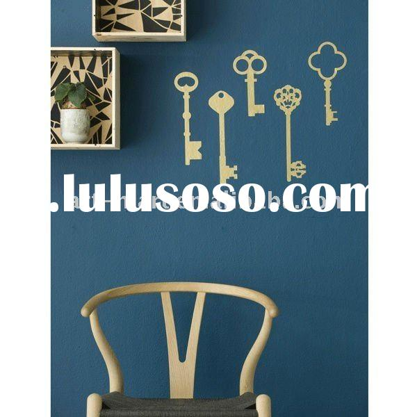 Golden Keys - Wall Decals, French Home Decor, High Quality Wall Decal