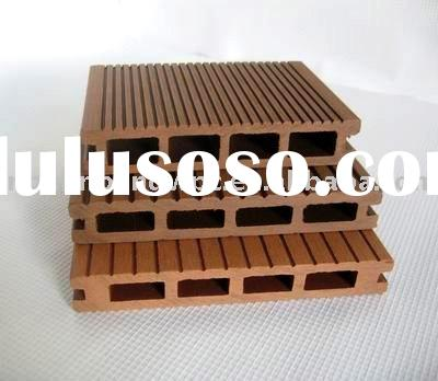 Grooved Wood Plastic Composite Hollow Decking