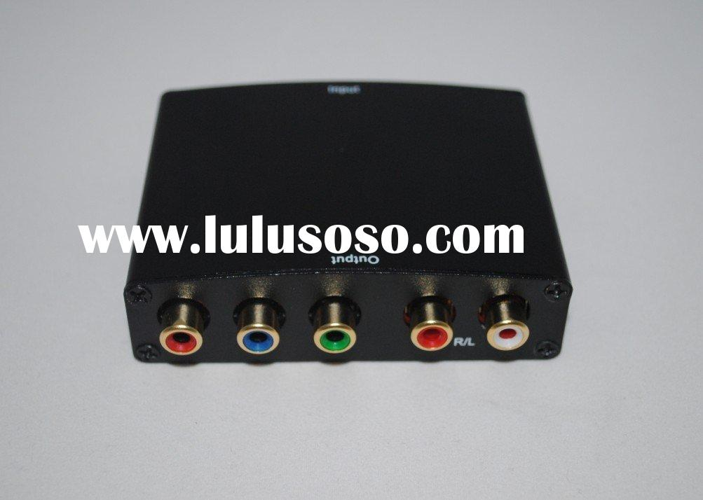 HDMI to 5 RCA Component Ypbpr Converter for PS3 DVD TV