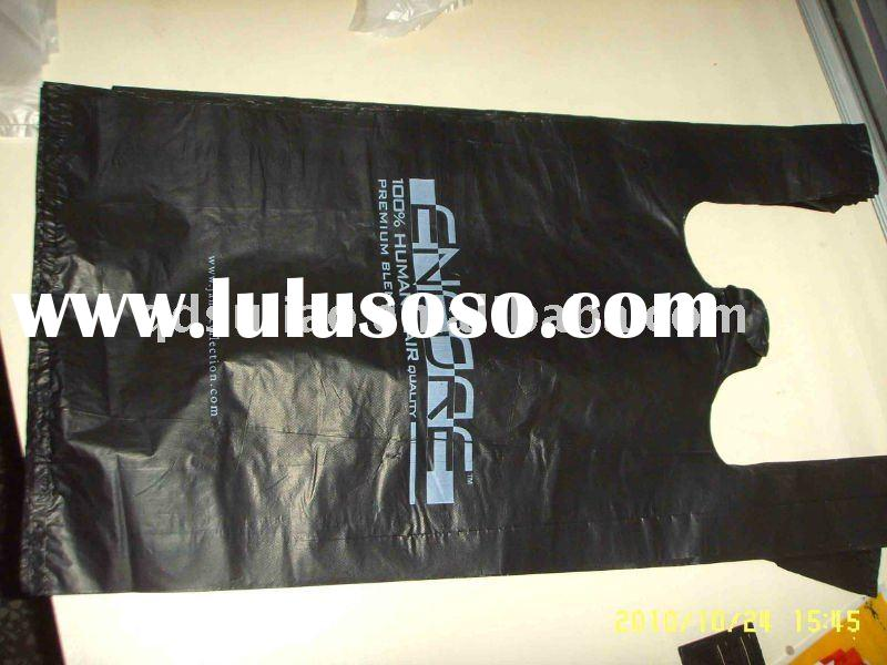 HDPE Recyclable T-shirt Plastic bag for garbage