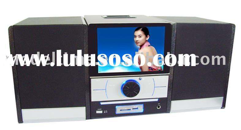 HIFI System/MINI Combo DVD player with 7inch LCD Display