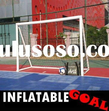 HOT SALE pvc card(6*4 Inflatable portable soccer goal)