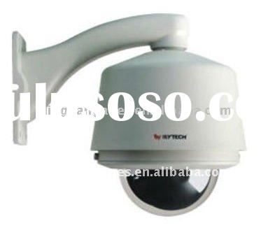 H. 264 High Speed IP Dome PTZ CCTV Camera (RS485)