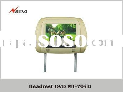 H-704,7 INCH HEADREST CAR DVD WITH LCD MONITOR