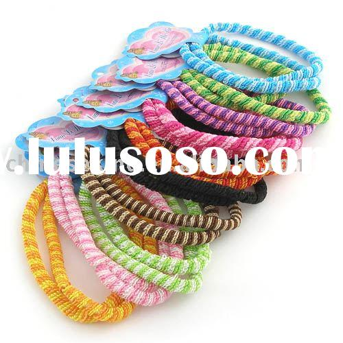 Hair ornaments,fashion hair elastics, girl accessories, lady hair ornaments, plastic hair ornaments,