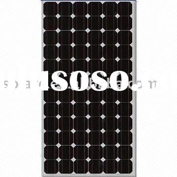 High performance 170W 24V mono solar panel with TUV CE