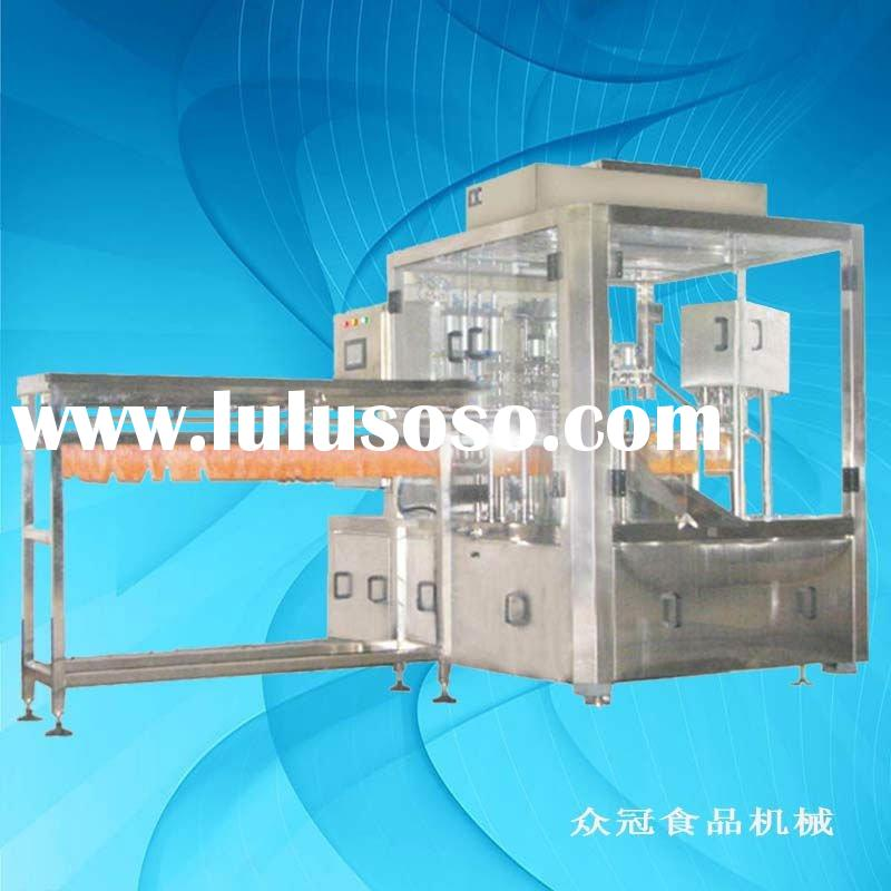 High quality ZLD-2A double head yoghourt pouch filling capping machine