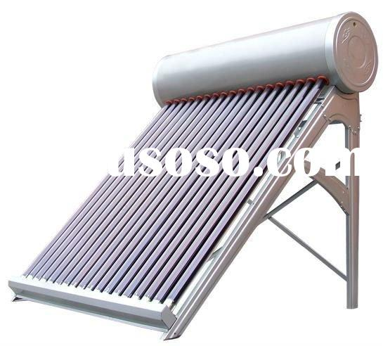 High quality pressurized solar water heater