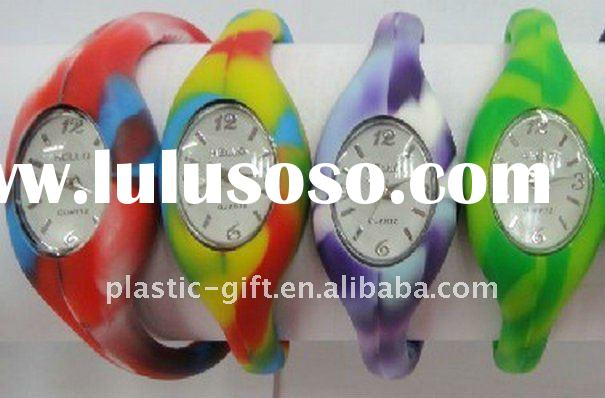 High quality silicone ion watch gift
