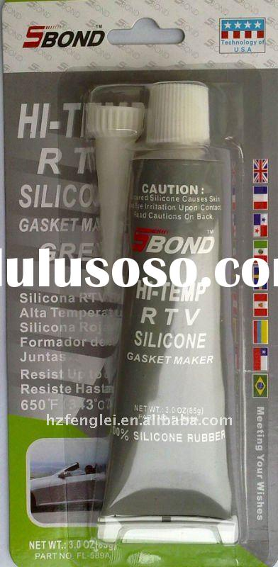 High temp GREY RTV Silicone gasket maker factory outlets