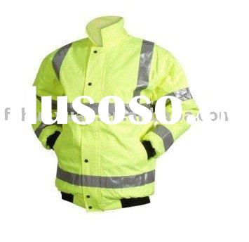 High visibility functional reflective tape jacket