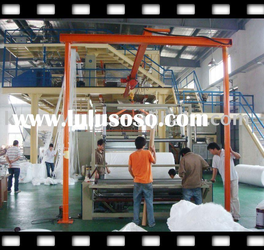 Highly welcomed 3.2m S/SS PP spunbonded nonwoven fabric production line