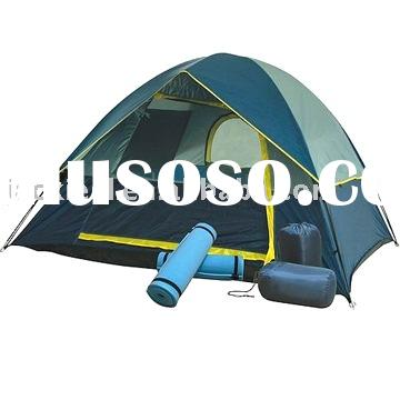 Holiday camping tent Set, double layers Travel Set