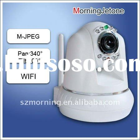 Home Security ptz Wireless ip camera with MJPEG compression