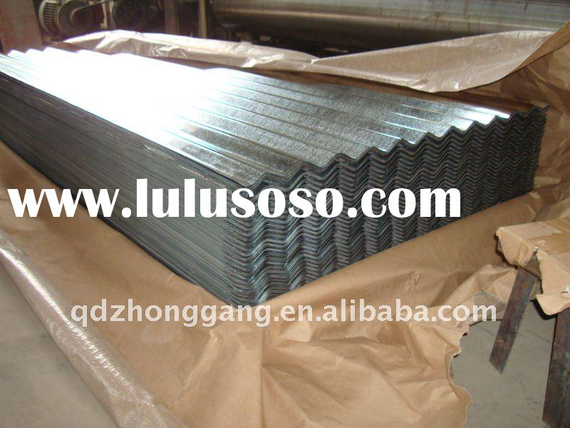 Hot Dipped Galvanized Corrugated Steel Sheet