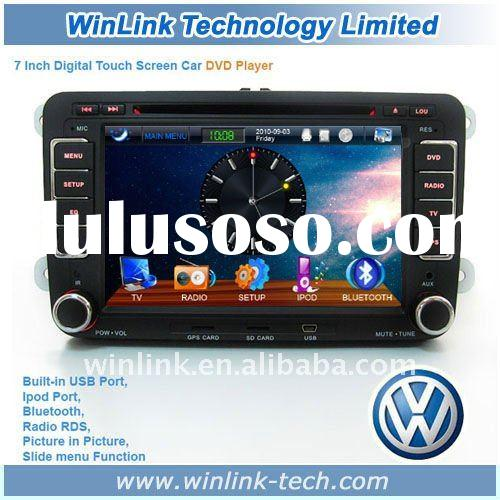 Hot!!! Excellent 2 din car radio with gps for VW passat