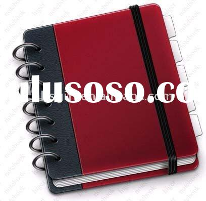 Hot hardcover spiral notebook with high quality