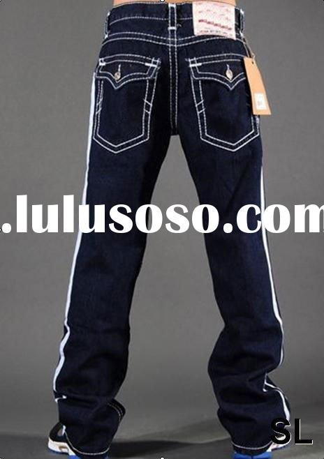 Hot selling brand jeans for men 2011, Paypal+Free shipping