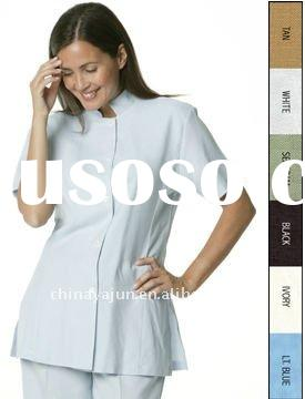 Hotel waiter waitress uniforms for sale price china for Spa uniform colors