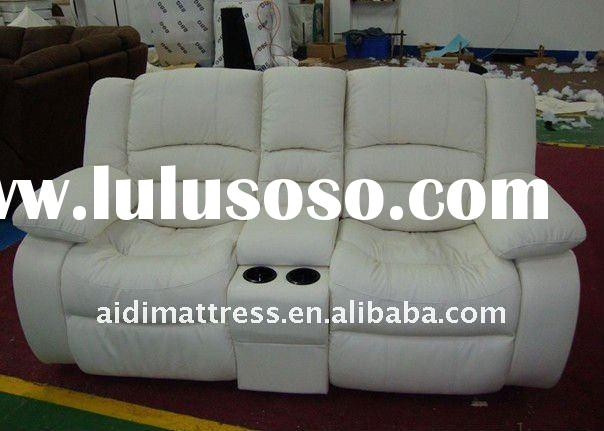 Hotel & home furniture high quality Leather recliner sofa 1053