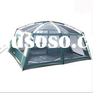 Huge camping tent with 2dining room with air-conditioner